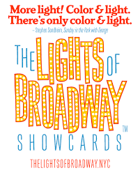 Color And Light Sondheim Free Cover Sheet With Sondheim Quote The Lights Of