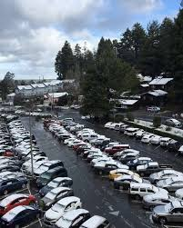 snow on cars at humboldt state in arcata calif on sunday feb