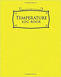Refrigerator Temperature Chart Sample Temperature Log Book Daily Temperature Log Sheets