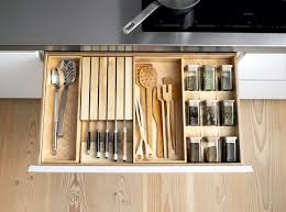 Kitchen Cabinet Inserts The B1 System Offers Versatile Solid Birch Inserts For Drawer