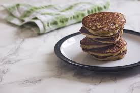 buckwheat banana pancakes with courgettes recipe