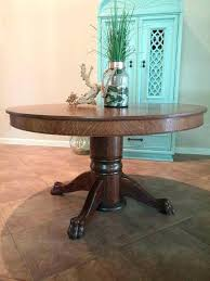 round clawfoot table antique oak claw foot pedestal table antique round dining table tiger oak claw