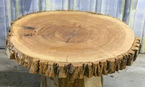 live edge round table live edge round cut large ash table top tree log slice live live edge round table