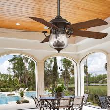 ceiling fan exterior fans hunter design indoor outdoor cloche glass