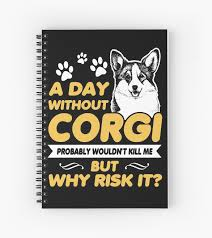"""Cute Corgi Dog <b>Funny</b> Gift For Corgi <b>Dad Mom T</b>-<b>Shirt</b>"" Spiral ..."