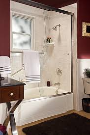 bathtub shower combination