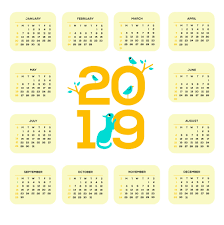 one page calender printable 2019 one page calendar monthly calendar templates
