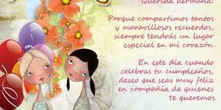 Tarjetas De Cumpleaños Para Una Hermana Tarjetas De