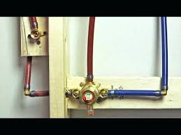 How to install shower plumbing Shower Enclosure Pex Shower Plumbing How To Install Valve Using Tradicionme Pex Shower Plumbing How To Install Valve Using Tradicionme