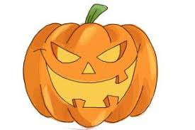 pumpkin drawing. how to draw a halloween pumpkin drawing p