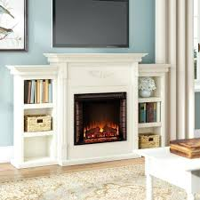 electric fireplace with shelves bookshelves with electric fireplace electric fireplace