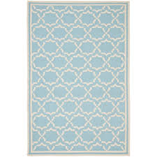 safavieh dhurries light blue ivory 4 ft x 6 ft area rug