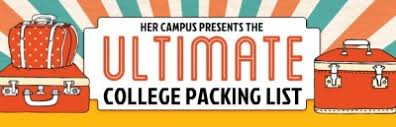 College Packing List App Packing List Tumblr