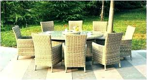 8 seat patio dining set 8 seat patio dining set outdoor chic round table for latest 8 seat patio