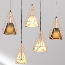 two changed fabric shade basket pendant lamp