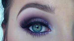 purple eyeshadow makeup tutorial from day to night jaclyn hill