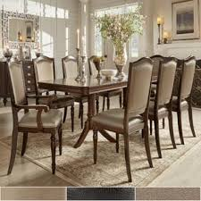 pictures of antique dining room tables. lasalle espresso pedestal extending table dining set by inspire q classic pictures of antique room tables t