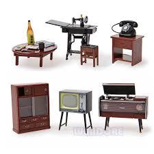 miniatures dollhouse furniture. vintage japanese japan furniture dollhouse miniature fridge magnet figure toy house wood 1 to mainland miniatures
