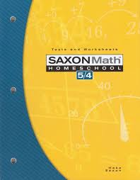 Saxon Math 5/4 Test and Worksheets (3rd Edition) | BookShark