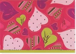 Groovy Hearts Note Cards Stationery Blank Note Cards