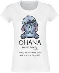 Ohana Means Family Lilo And Stitch T Shirt Emp