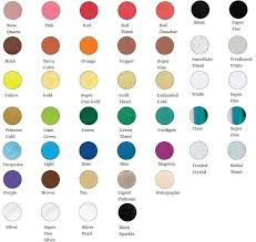 Ranger Embossing Powder Color Chart Wedding Cups Gender