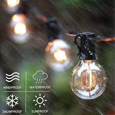 outdoor solar fairy lights bright