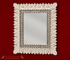 mirrors sunburst red wall mirrors set 3