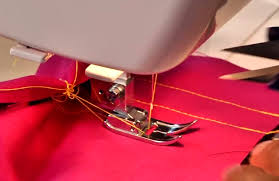 Sewing With Machine