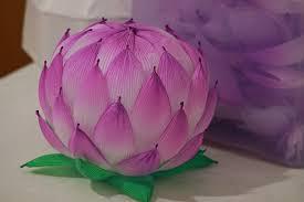 How To Make A Lotus Flower Out Of Paper Korean Lotus Flower Lantern Making Workshop Princeton