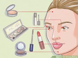 image led start wearing makeup step 4