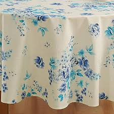 shalinindia handmade cotton round tablecloth indian home décor fl print 86 inches 6 seater y1qt567t9