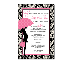 Pink And Black Baby Shower Invitations - iidaemilia.Com