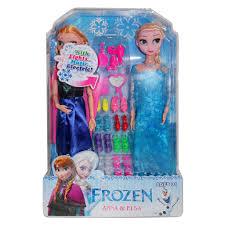 Búp bê Elsa và Anna kèm phụ kiện - Có khớp