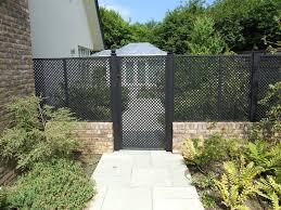 Small Picture see through fence windbreak Garden design ideas photo gallery
