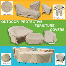 patio furniture cushion covers. OUTDOOR PROTECTIVE FURNITURE COVERS Collection Patio Furniture Cushion Covers