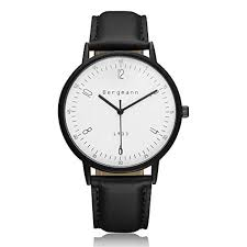 bergmann brand 6mm extra thin watches for men black leather large bergmann brand 6mm extra thin watches for men black leather large white dial vintage watch quartz