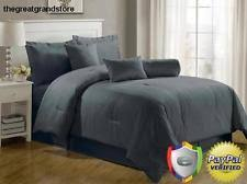 gray bedspread king. Wonderful Gray Item 8 Luxurious 7Piece Comforter Set King Size Bedding Gray Bedspread Bed  In A Bag Luxurious  To O