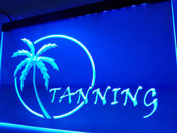 Tanning Light For Home Use Us 11 5 Lb029 Open Tanning Sun Care Displays Led Neon Light Sign Home Decor Crafts In Plaques Signs From Home Garden On Aliexpress