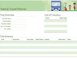 Examples Of An Itinerary Itineraries Office Com