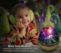 Baby Girl Night Light Projector Baby Girl Gifts Romantic Gift For Her Night Light Projector