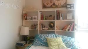My IKEA Hack: Making a Budget Bookshelf Headboard 1-2-3 - My First Apartment