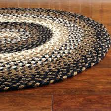 braided area rug black tan cream oval rectangle primitive country stallion rugs kitchen s fascinating rugged simple round area rugs 9 on primitive