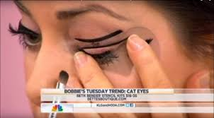 beth bender beauty eyeliner stencils on nbc s today show with bobbie thomas beth bender beauty you