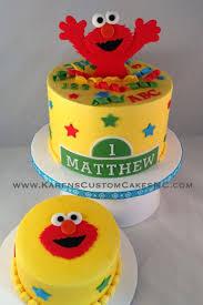 12 Elmo Birthday Cakes With Buttercream Frosting Photo Elmo