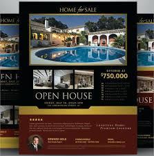 Home Flyers Template Open House Flyers Prophetiam Com