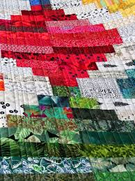 22 best Kathy Doughty images on Pinterest | Log cabins, Quilting ... & Straight line quilting by Wanda S. Hanson | Exuberant Color. Quilt design  by Kathy Adamdwight.com