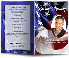 funeral pamphlet funeral programs and memorials in loving memory