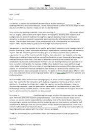 Cover Letter Middle School History Teacher