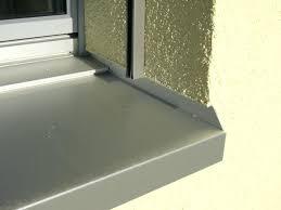 Fensterbank Anthrazit Fenster Stein Aussen Granit